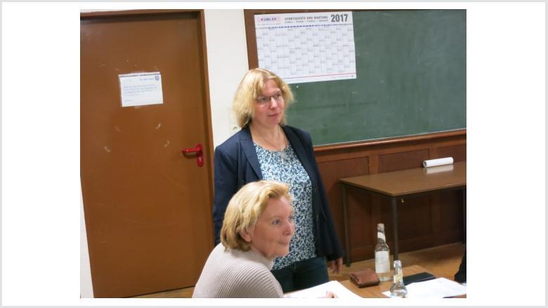 Rose-Marie Lecher und Sabine Schäfer-Jarosz.