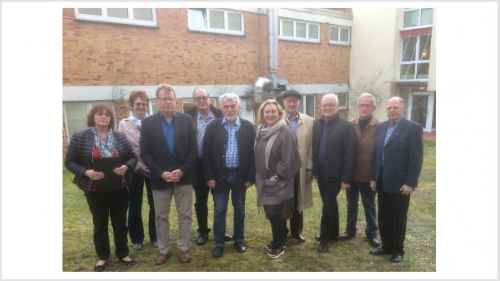 Pflege und Versorgung im AWO-Pflegezentrum Gladenbach: Die CDU-Kreistagsfraktion informiert sich