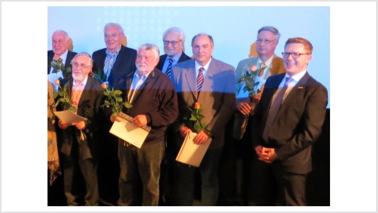 Zahlreiche Mitglieder wurden für 25jährige und 40jährige Mitgliedschaft in der CDU Deutschlands geehrt.