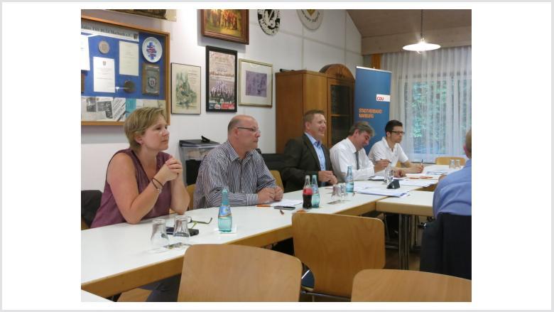 Karin Schaffner, Joachim Brunnet, Dirk Bamberger, Wieland Stötzel und Jan-Philipp Bodenbender.